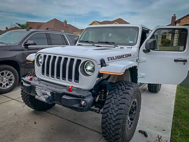 Jeep Jl Jt High Line Fender Brace With Daytime Running Lights American Adventure Lab