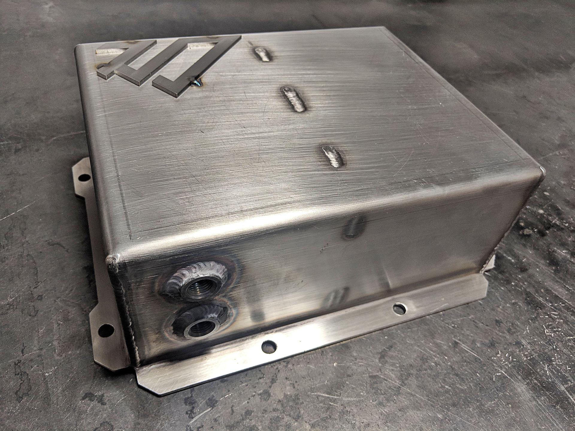 Air Tank For Jeep Jl Dual Arb Compressor Bracket - American Adventure Lab-7883