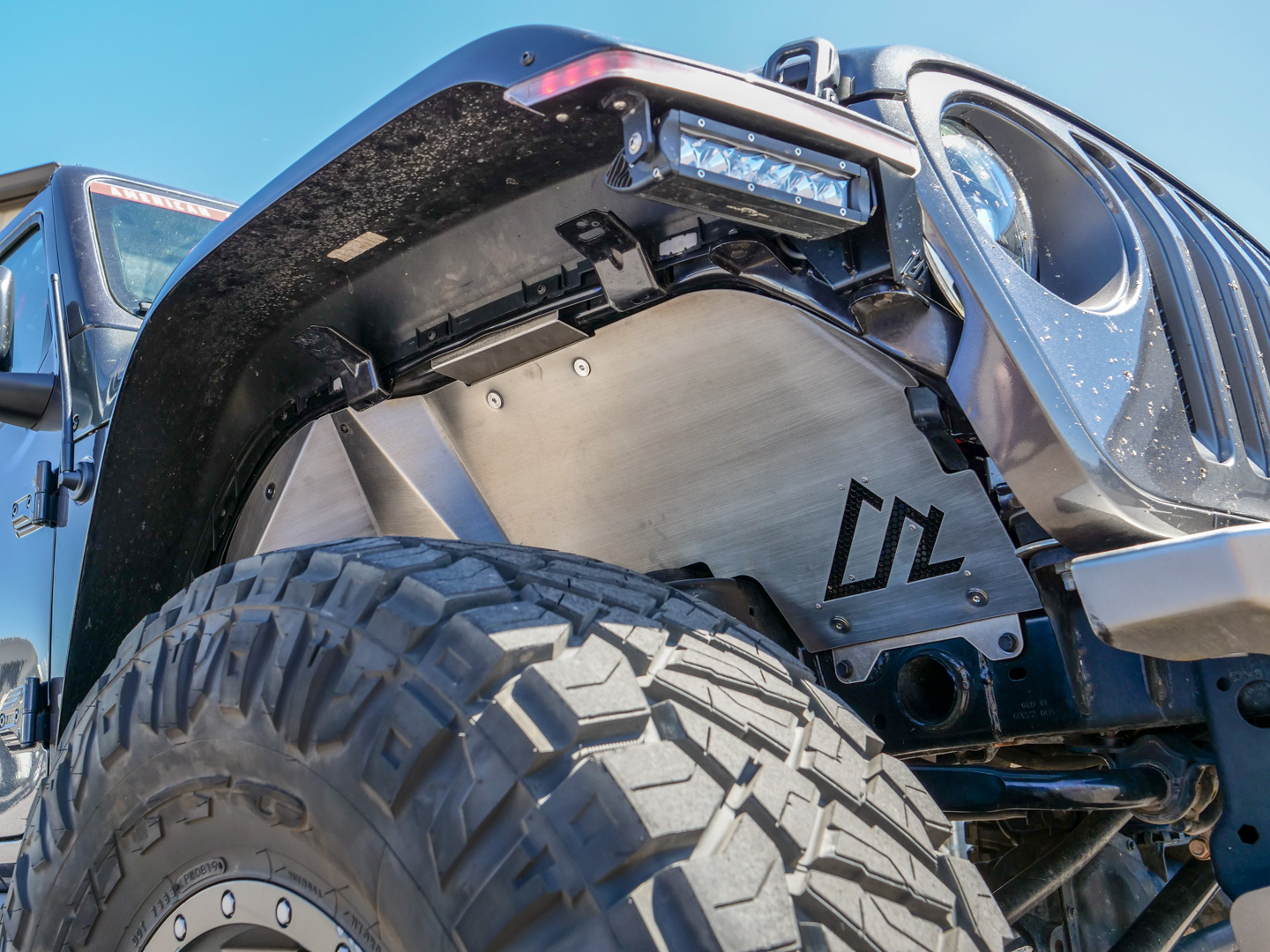 Jeep Jl Jt Quick Release Front Inner Fenders American Adventure Lab