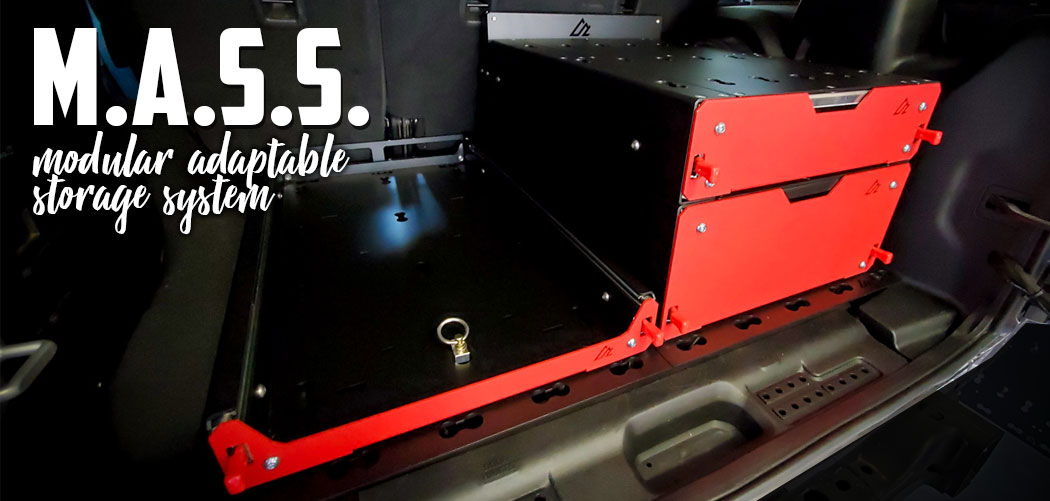 MASS Storage System for Jeep JL