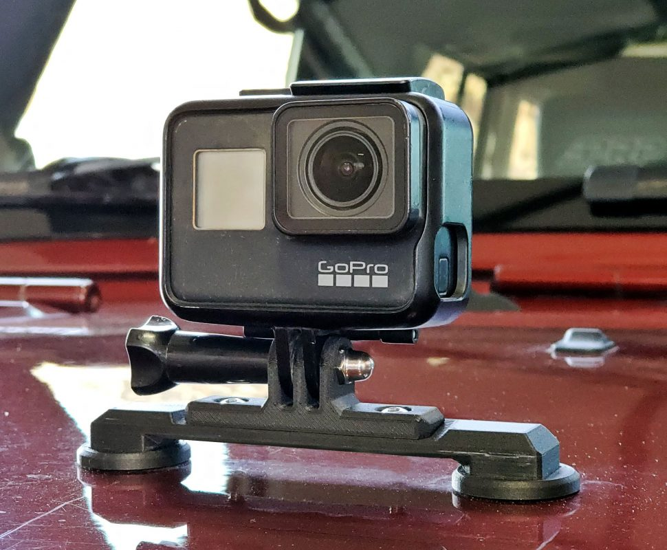 Jeep JK Footman Loop GoPro Mount