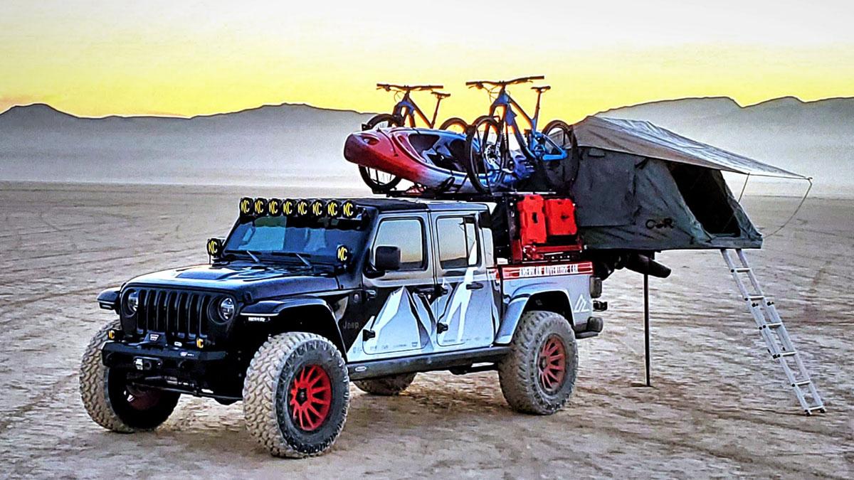 ATLAS - Articulating Tent System