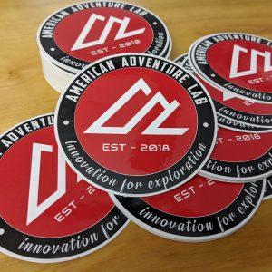 """4"""" Round AAL Sticker"""