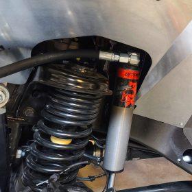 Fox Factory 2.5 Remote Reservoir JL Inner Fenders