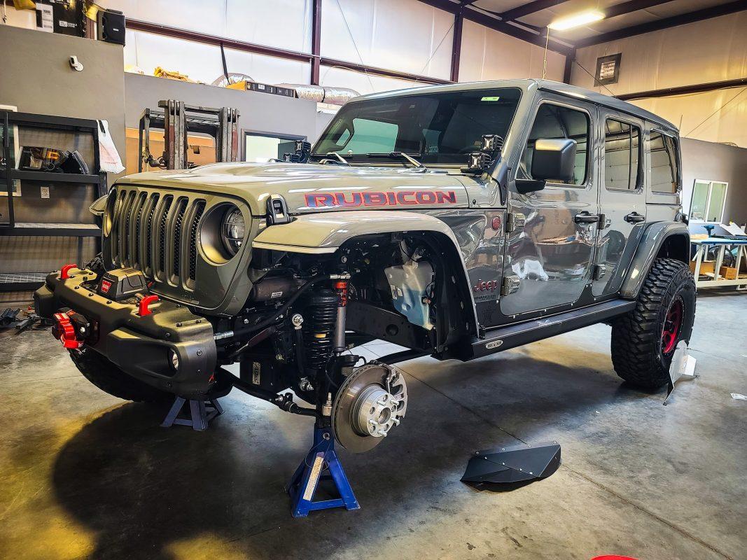 Eco-Diesel Jeep JL/JT Front Inner Fenders