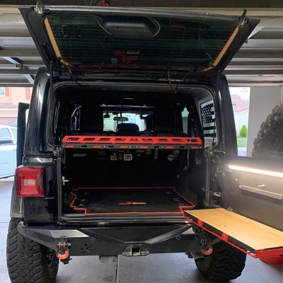 Jeep JL Cargo Shelf